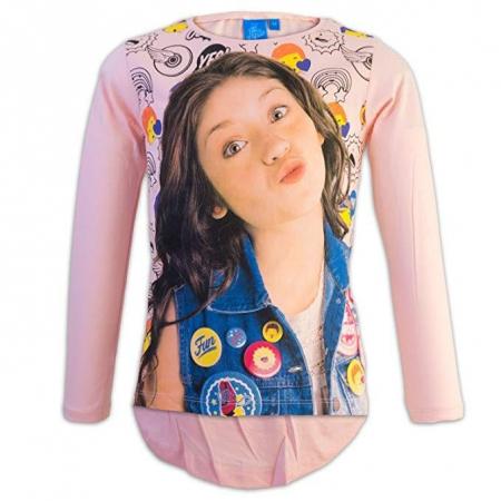 Bluza maneca lunga Soy luna, roz, 116 cm1