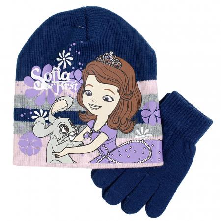 Caciula caciula si manusi tricotate Printesa Sofia0