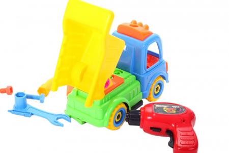 Camion cu trusa de reparatii 26x11x19 cm [4]