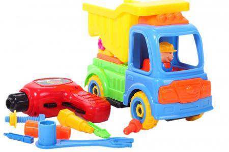 Camion cu trusa de reparatii 26x11x19 cm [3]
