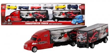 Camion Formula 1 cu 6 masinute incluse0