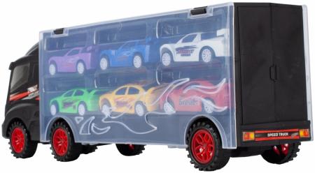 Camion valiza cu 6 masinute incluse [5]