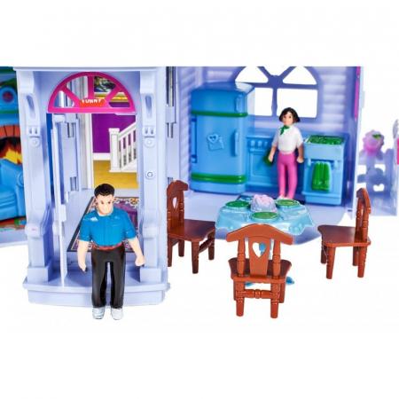 Casuta Papusi portabila, 4 figurine [2]