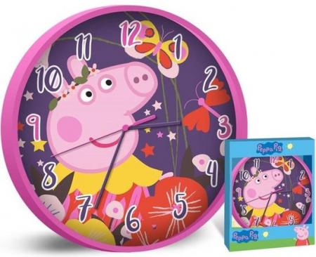 Ceas perete Peppa Pig, 25 cm [0]