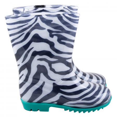 Cizme cauciuc Zebra,bleu [3]