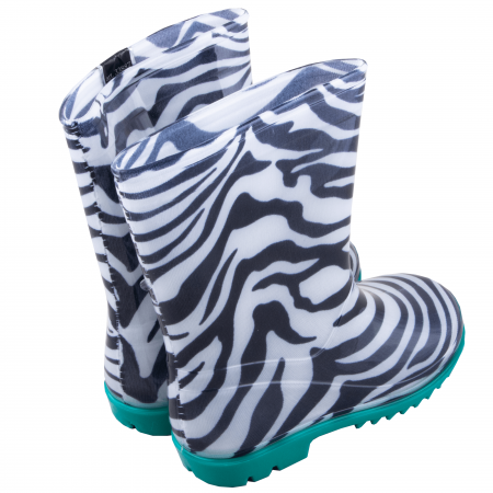 Cizme cauciuc Zebra,bleu [5]