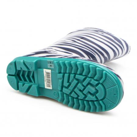 Cizme cauciuc Zebra,bleu [1]