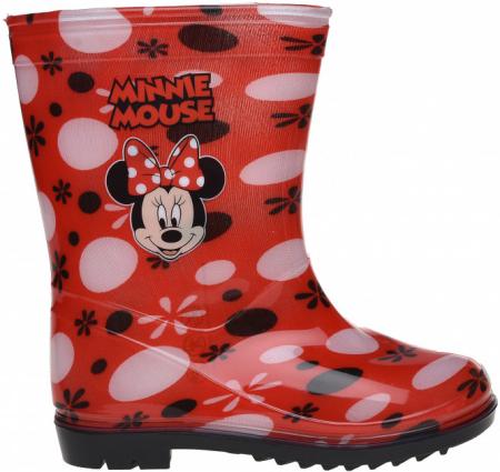 Cizme de ploaie Minnie rosii 25-261