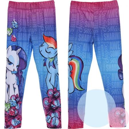 Colanti lungi My Little Pony, roz/albastru, 3/4 ani [1]