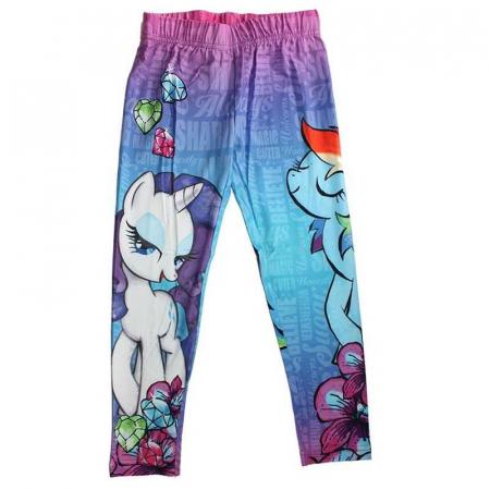 Colanti lungi My Little Pony, roz/albastru, 7/8 ani [1]