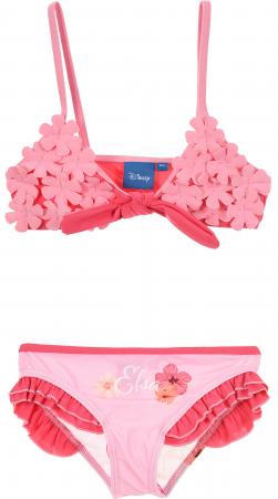 Costum baie Frozen 2 piese roz 5 ani, 110 cm0