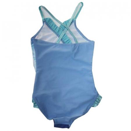 Costum baie intreg Frozen bleu, 4 ani, 104 cm1