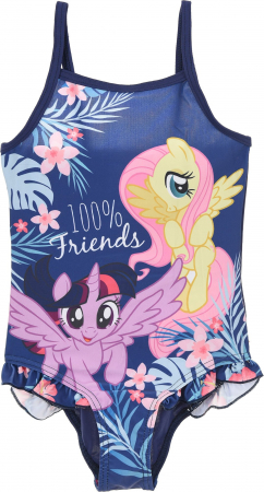 Costum baie intreg My little pony Dreams mov, 128 cm, 8 ani0
