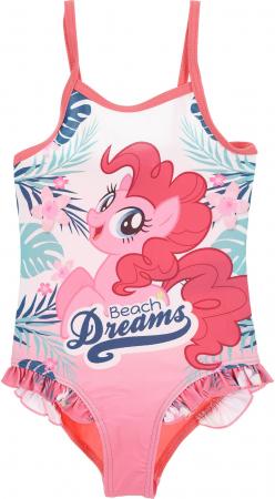 Costum baie intreg My little pony Dreams roz, 116 cm, 6 ani0