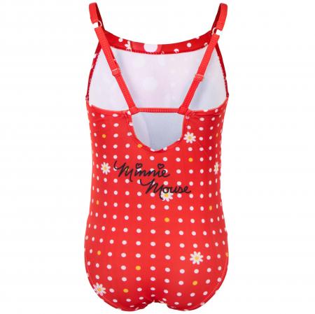 Costum de baie intreg Minnie Mouse, rosu1