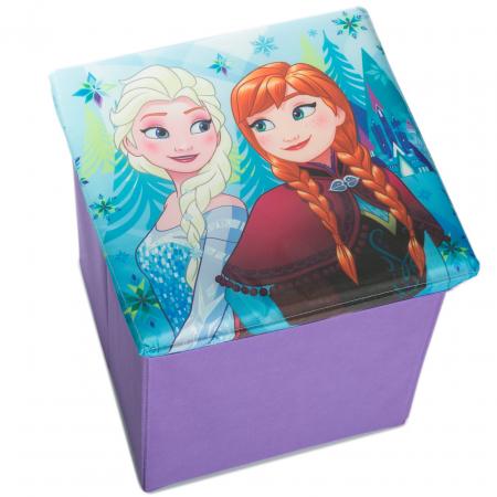 Cutie taburet depozitare jucarii Frozen 31x31x33 [1]
