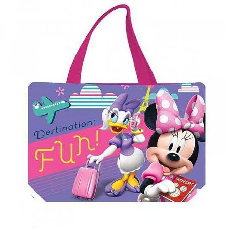 Geanta de plaja Minnie Mouse Adventure 34x50 cm0