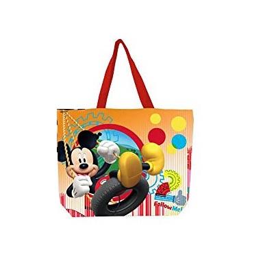 Geanta plaja Mickey Mouse portocaliu 40x52 cm0