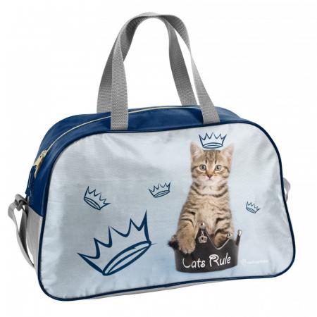 Geanta sport Cats Rules Paso 40x25x13 cm0