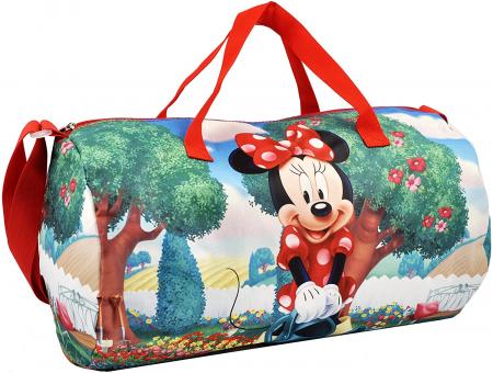 Geanta sport Minnie Mouse 43x24x24cm0