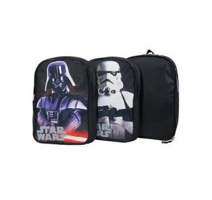Ghiozdan adaptabil 2 fete Star Wars 43.5 cm2