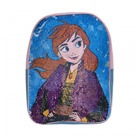 Ghiozdan Frozen Anna si Elsa paiete reversibile [2]