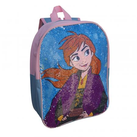 Ghiozdan Frozen Anna si Elsa paiete reversibile [3]