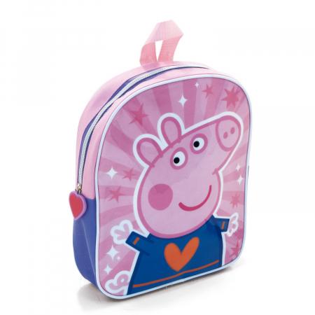 Ghiozdan gradinita Peppa Pig 28 cm0