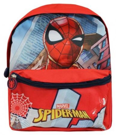 Ghiozdan gradinita Spiderman rosu 29x24x10 cm0