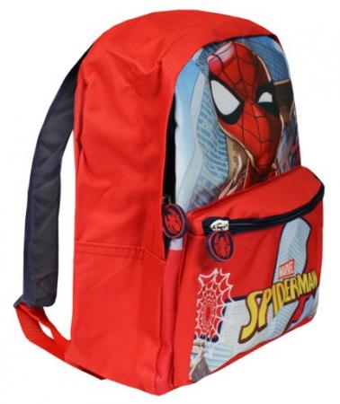 Ghiozdan gradinita Spiderman rosu 29x24x10 cm1