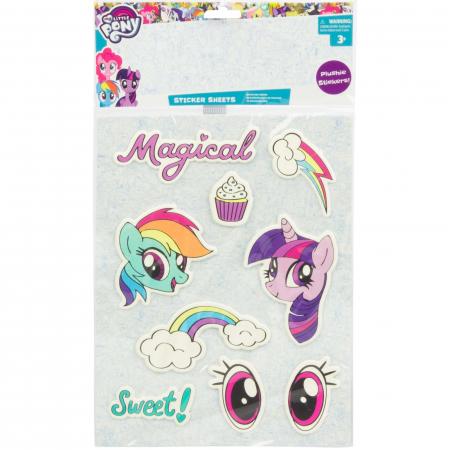 Ghiozdan My Little Pony cu stickere 38x28 cm [2]