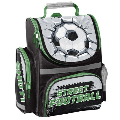 Ghiozdan scoala 3D ergonomic Street Football0