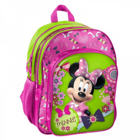 Ghiozdan scoala Minnie Mouse 3 compartimente [2]