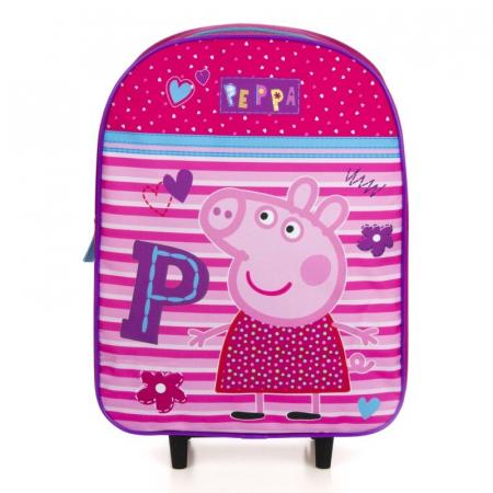 Ghiozdan troler Peppa Pig 39 cm1