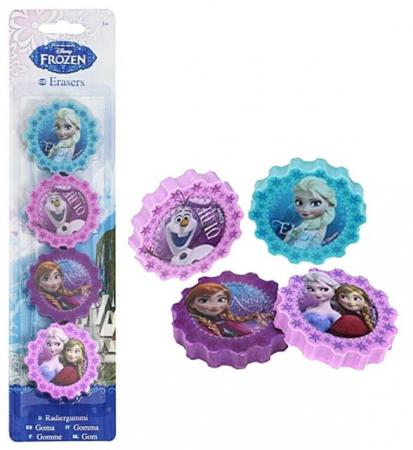 Guma sters Frozen set 4 bucati0