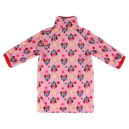 Halat pufos Minnie, roz1