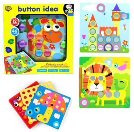 Joc Creativ Mozaic Button Idea [5]