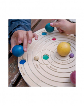 Joc educativ din lemn, Sistemul Solar 3D [8]