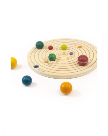 Joc educativ din lemn, Sistemul Solar 3D [2]
