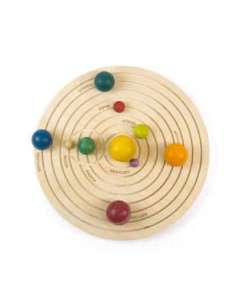 Joc educativ din lemn, Sistemul Solar 3D [0]