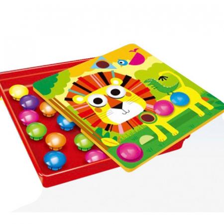 Joc Creativ Mozaic Button Idea [0]