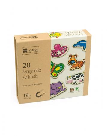 Joc magnetic cu animale, 20 piese [0]