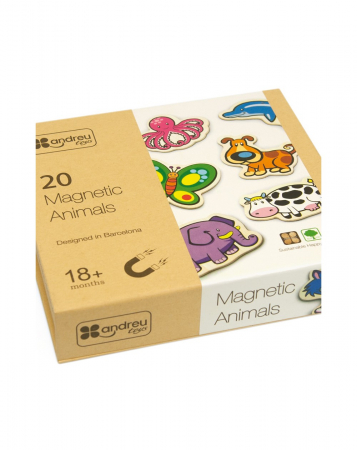 Joc magnetic cu animale, 20 piese [1]