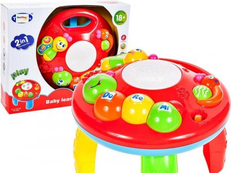 Jucarie interactiva Omida Masuta cu activitati pentru bebelusi cu sunete si lumini [4]