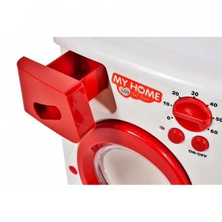 Jucarie interactiva masina de spalat rufe automata,19 cm [3]