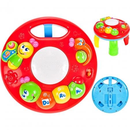 Jucarie interactiva Omida Masuta cu activitati pentru bebelusi cu sunete si lumini [1]