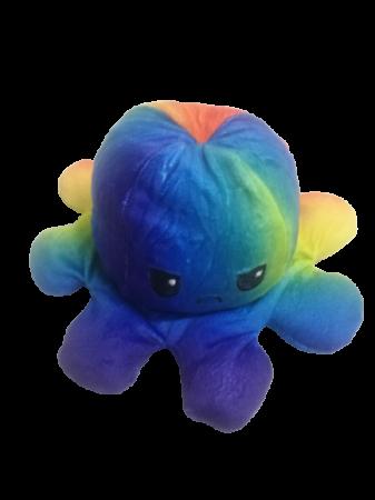 Jucarie reversibila, caracatita 2 fete, Rainbow1