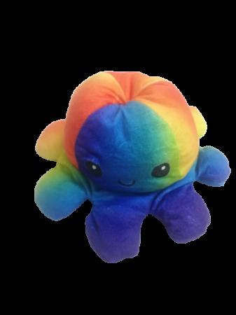 Jucarie reversibila, caracatita 2 fete, Rainbow0