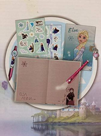 Jurnal Frozen + pix UV cu cerneala invizibila si stickere2
