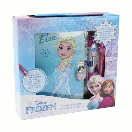 Jurnal Frozen + pix UV cu cerneala invizibila si stickere3